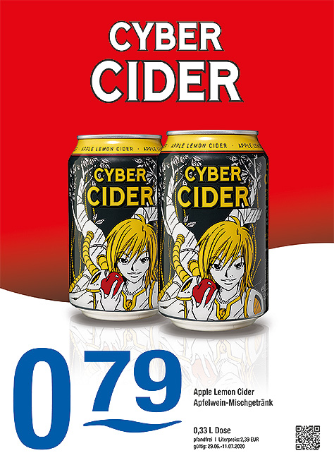Cyber Cider Apple Lemon